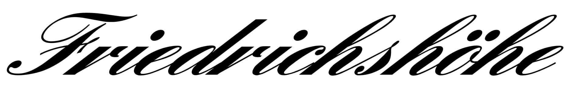Friedrichshoehe – Hotel und Restaurant in Braunschweig Logo
